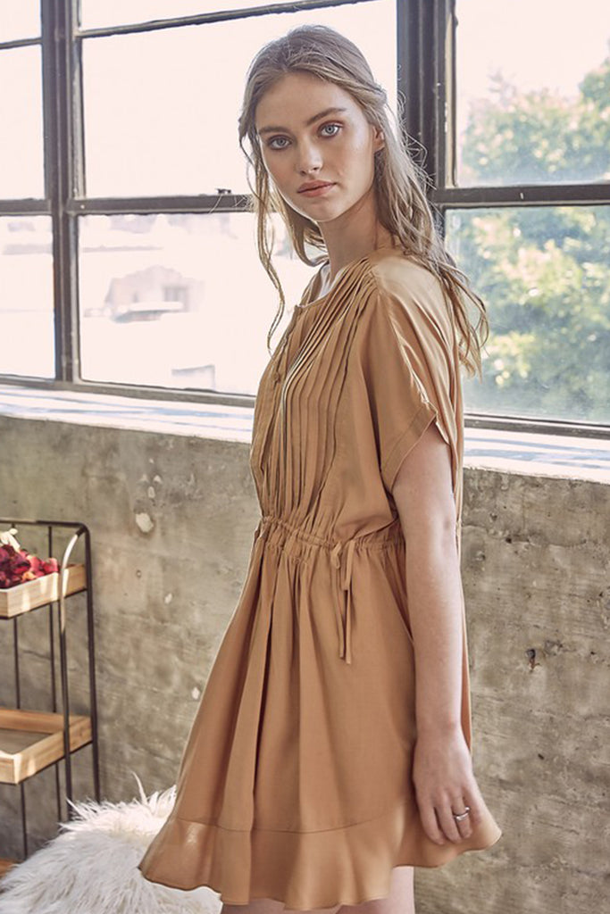 Somewhere With You Babydoll Dress By For Good