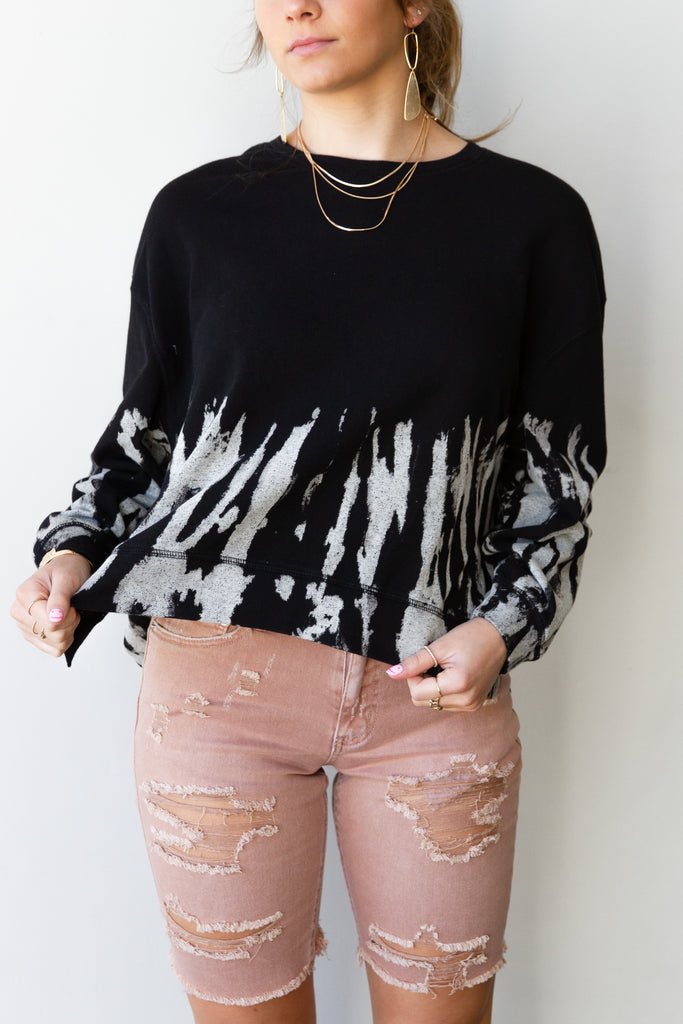 Falling Slowly Tie Dye Top By For Good