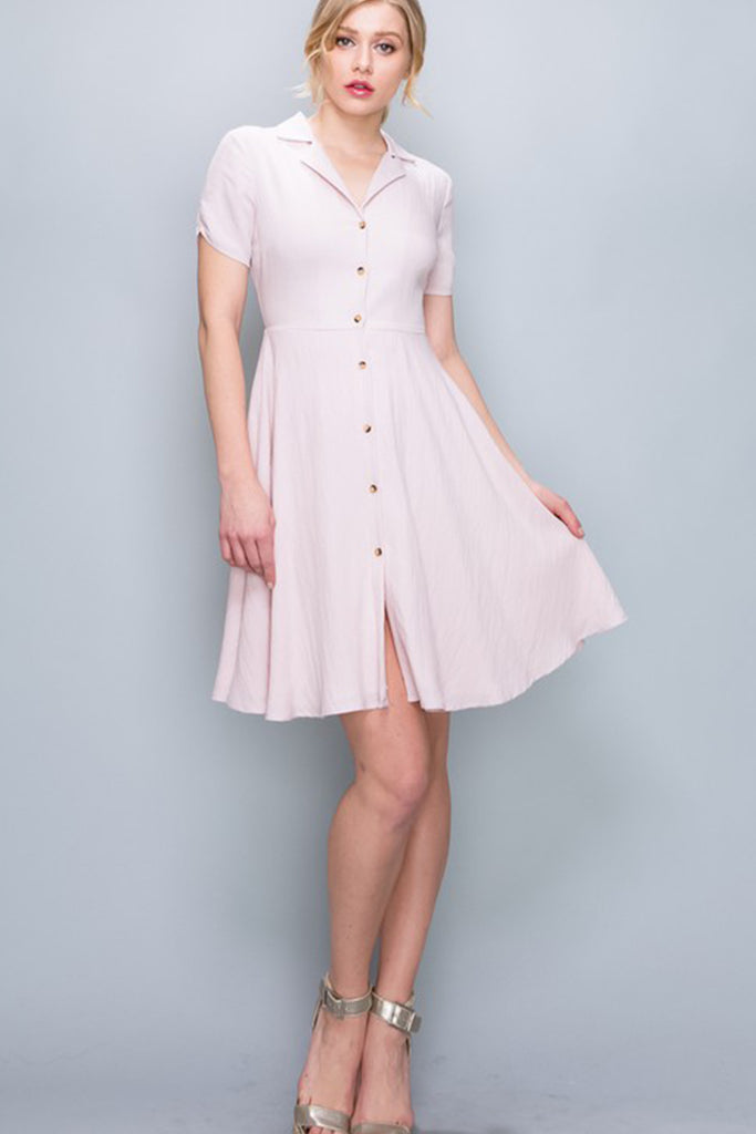 American Honey Button Up Dress By For Good