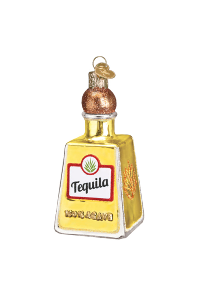 Tequila Bottle Ornament by For Good