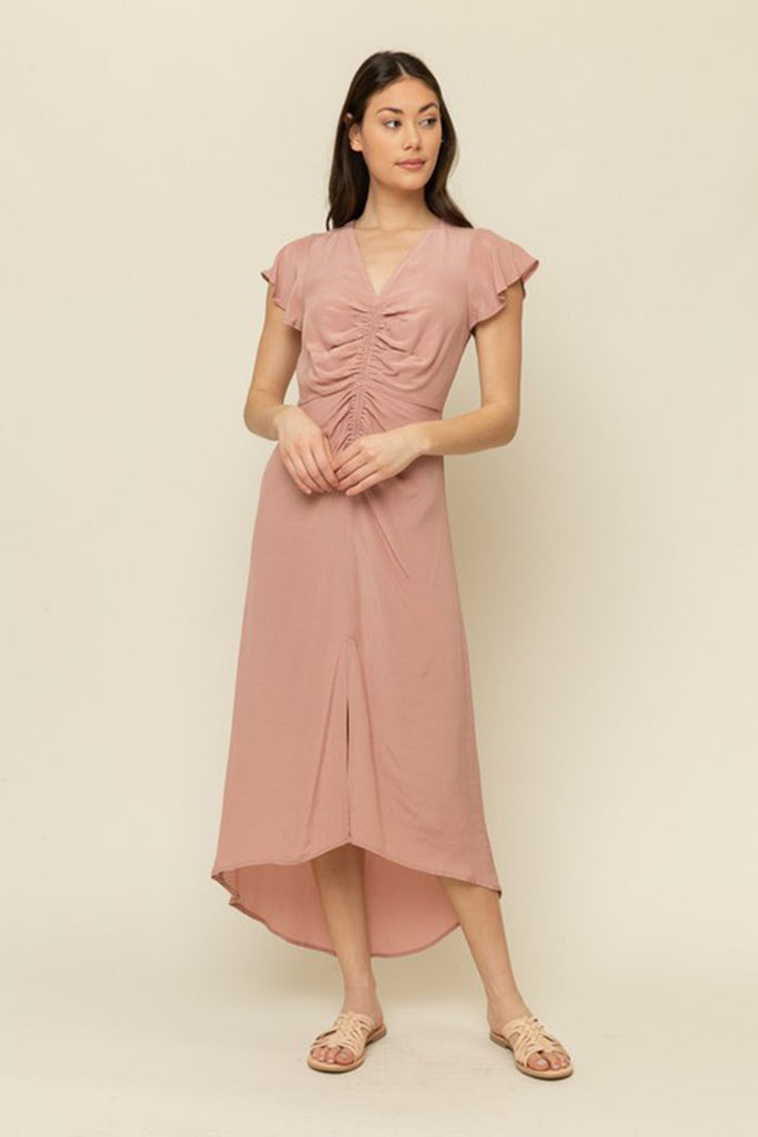 Sweet Sunset Midi Dress by For Good