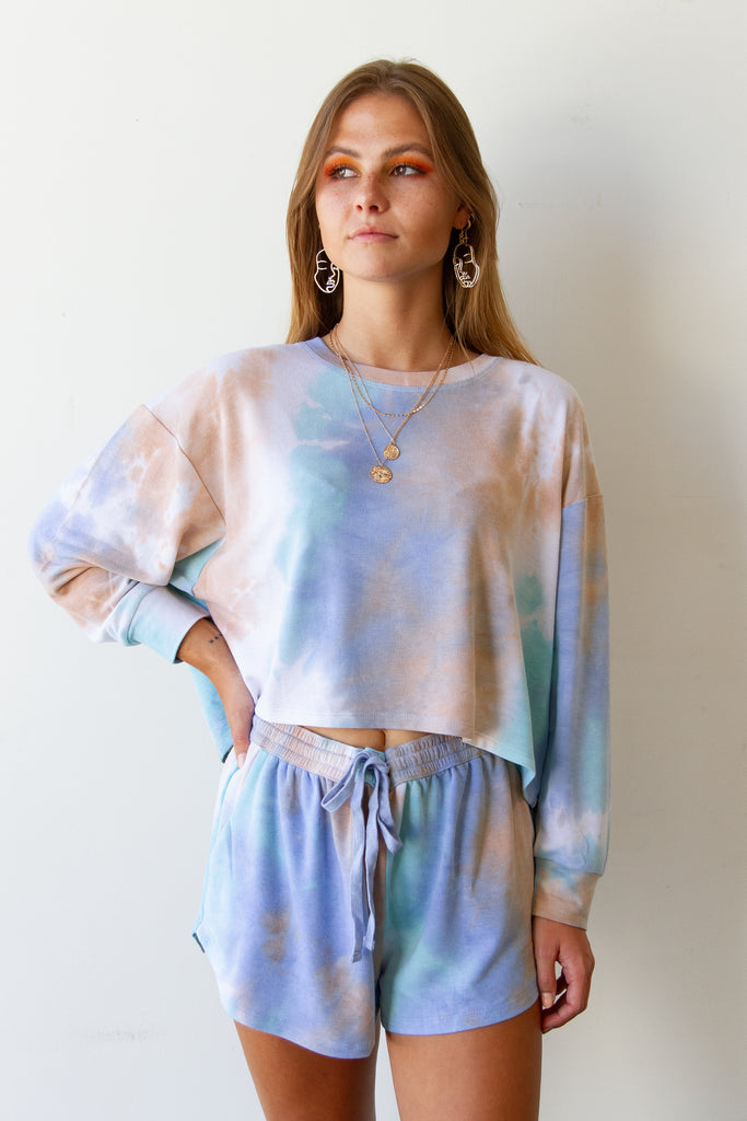 Easy Way Tie Dye Top By For Good