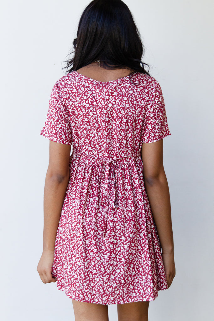 Sweeter Floral Babydoll Dress