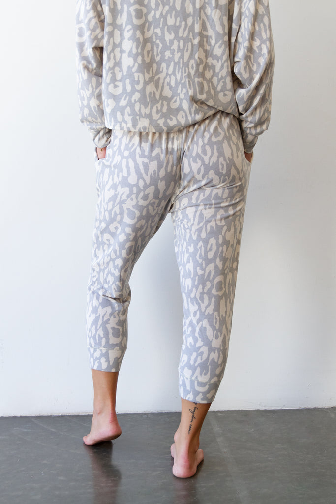 Watch Me Animal Print Pants By For Good