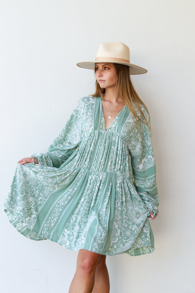Oceans Away Flowy Dress By For Good