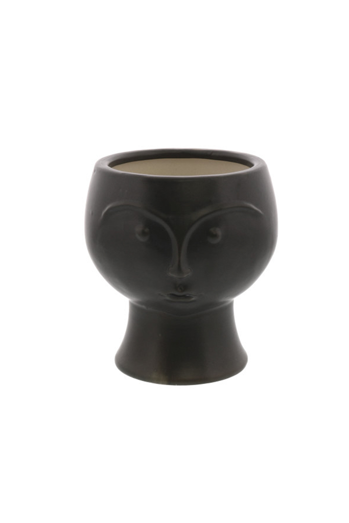 Ceramic Face Vase By For Good