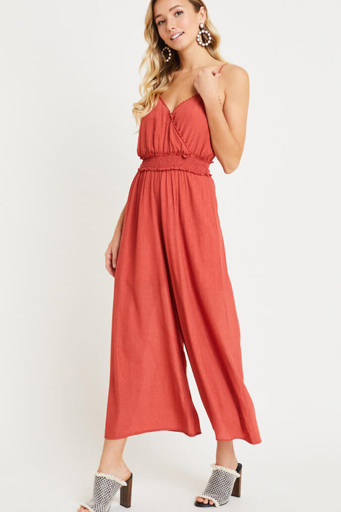 Stop & Stare Cami Jumpsuit
