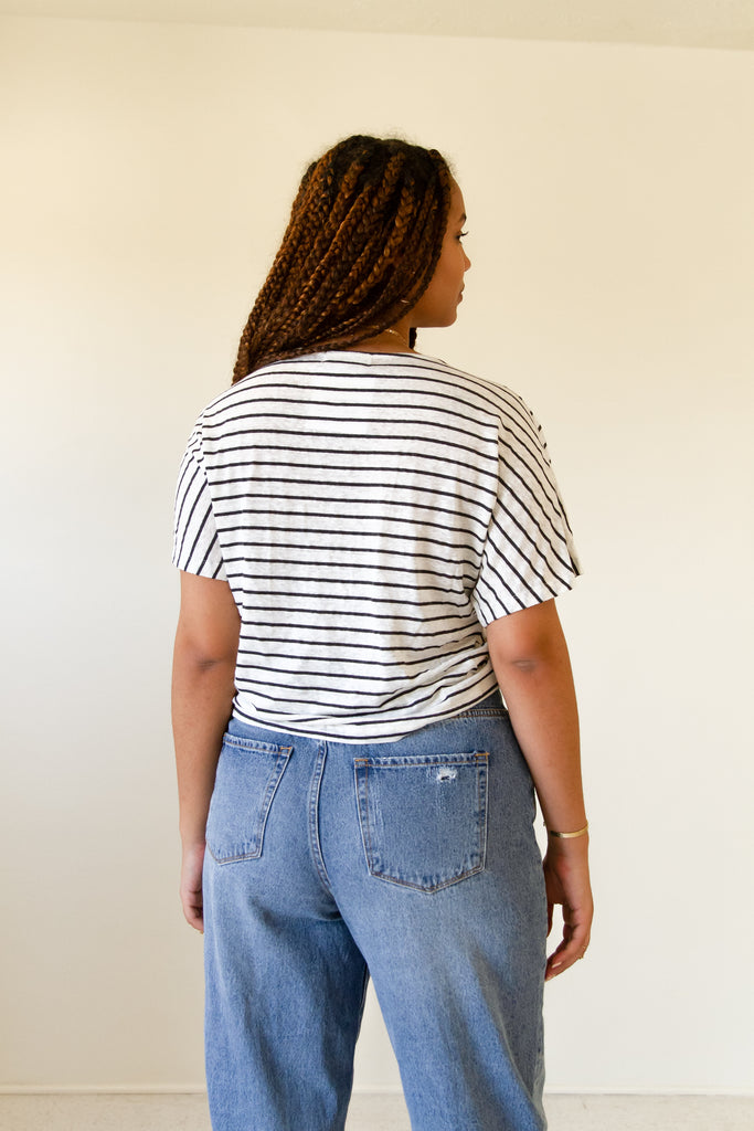 Show Love Ruched Crop Top by For Good