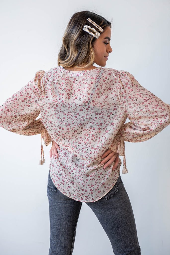 Everything Now Floral Top By For Good
