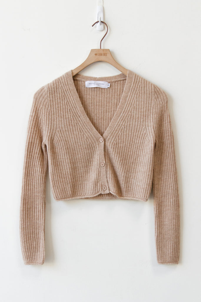 Best Thing Cropped Cardigan