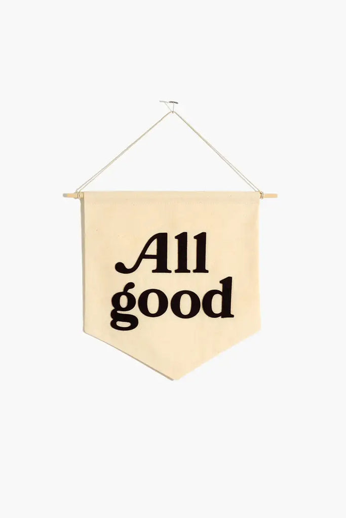 All Good Banner By For Good