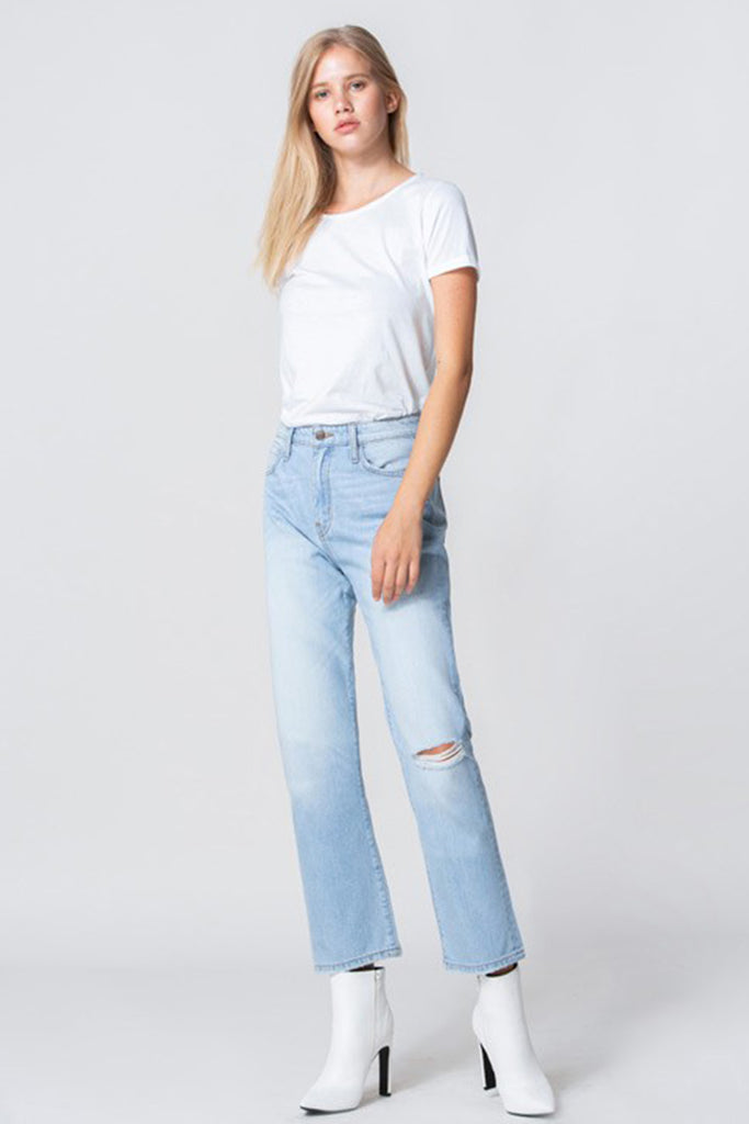 California Angel Straight Jeans by For Good