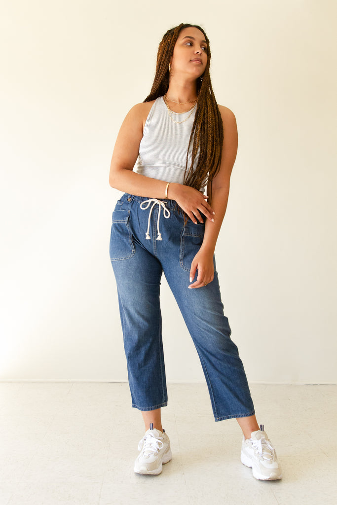 So True Denim Pants by For Good