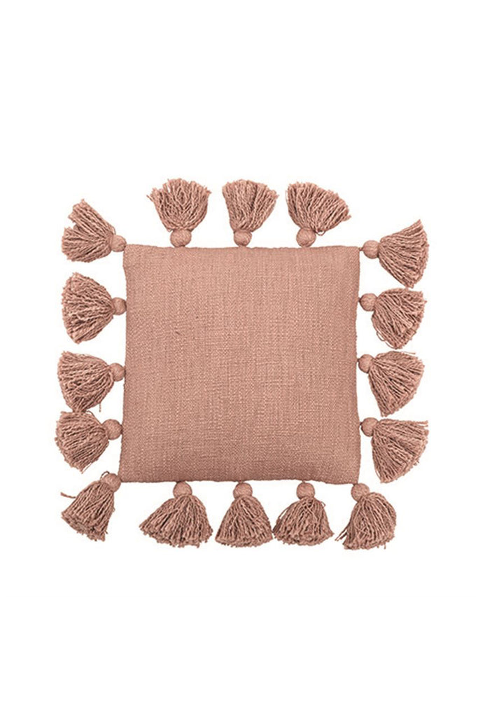 Decorative Tassel Pillow by For Good