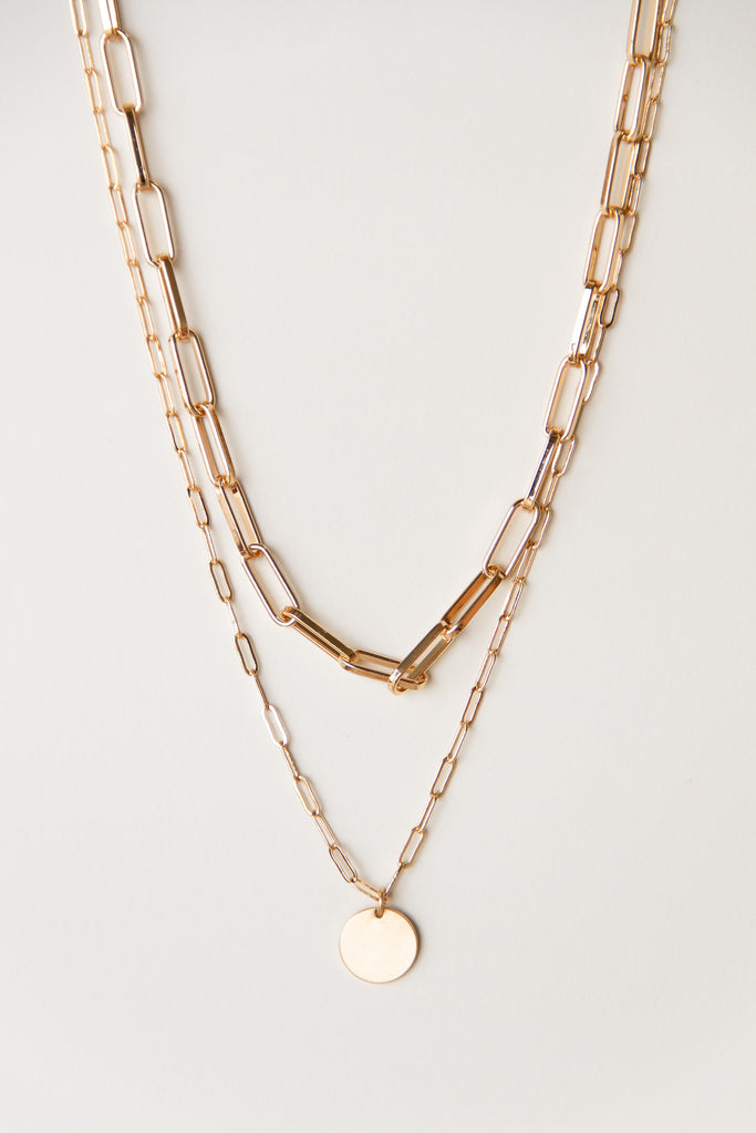 Wonderstruck Layered Chain Necklace