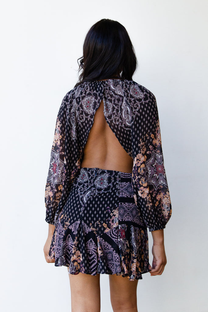 Thousand Years Floral Dress By Free People