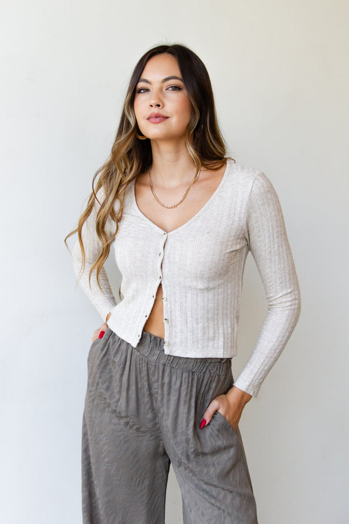You're Classic Crop Cardigan