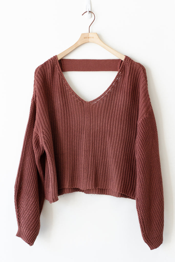 Never Understand Knit Sweater