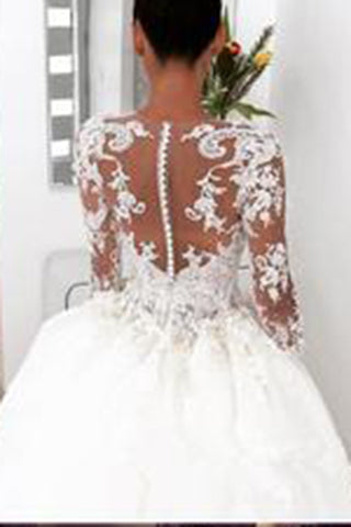 Sexy Lace Wedding Gown
