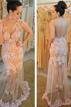 Charming Lace Real Made Prom Dresses,Long Evening Dresses,Prom Dresses On Sale,L29
