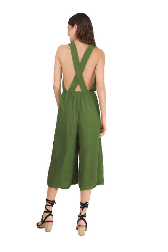 Sexy V-neck Wide Leg Jumpsuit Party Jumpsuit FP3301