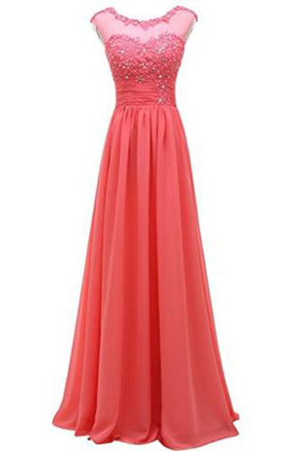 Lace Long Prom Evening Dress Gown Bridesmaid For Wedding PH200