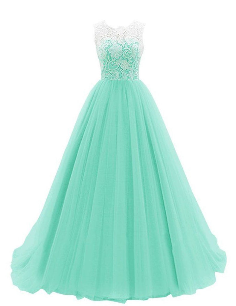 Women's Ruched Sleeveless Lace Long Prom Dresses Prom Gown,Prom Dresses uk PM767