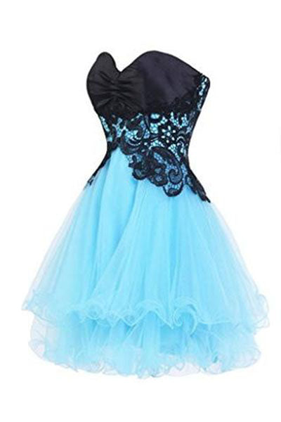 Sweetheart Bridesmaid Short Prom Homecoming Party Dresses For Juniors PH216