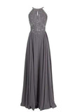 Sparkling Straps Formal Gowns Beading Evening Dresses Backless Prom Dresses uk PM770