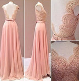 Sweetheart Lace Backless with Open Backs Formal Gown Backless Evening Gowns For Teens PH140