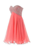 Short Mini Beaded Prom Homecoming Dresses ELF174