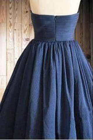 Homecoming Dress,Navy Blue Homecoming Dresses,Tulle Homecoming Dress,Party Dresses uk PM922