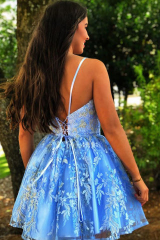 products/A_Line_Spaghetti_Straps_Blue_Homecoming_Dresses_with_Appliques_V_Neck_Short_Prom_Dress_H1285-2.jpg