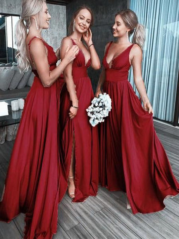 products/Chic_Burgundy_Deep_V_Neck_Bridesmaid_Dress_A_Line_Sleeveless_Backless_Prom_Dresses_BD1009-1.jpg