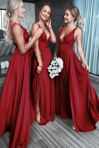 products/Chic_Burgundy_Deep_V_Neck_Bridesmaid_Dress_A_Line_Sleeveless_Backless_Prom_Dresses_BD1009.jpg