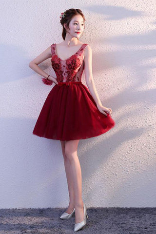 products/Cute_Burgundy_Tulle_Above_Knee_Tulle_Homecoming_Dresses_Lace_up_Belt_Graduation_Dress_PW820-1.jpg