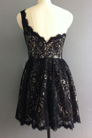 products/Cute_One_Shoulder_Lace_Appliques_Black_Short_Prom_Dresses_Homecoming_Dresses_H1292-1.jpg