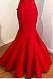 Mermaid Red Prom Dress,Long Prom Dresses,Charming Prom Dresses,prom dresses uk PM855