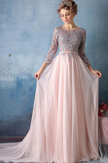 Lace long prom dresses uk
