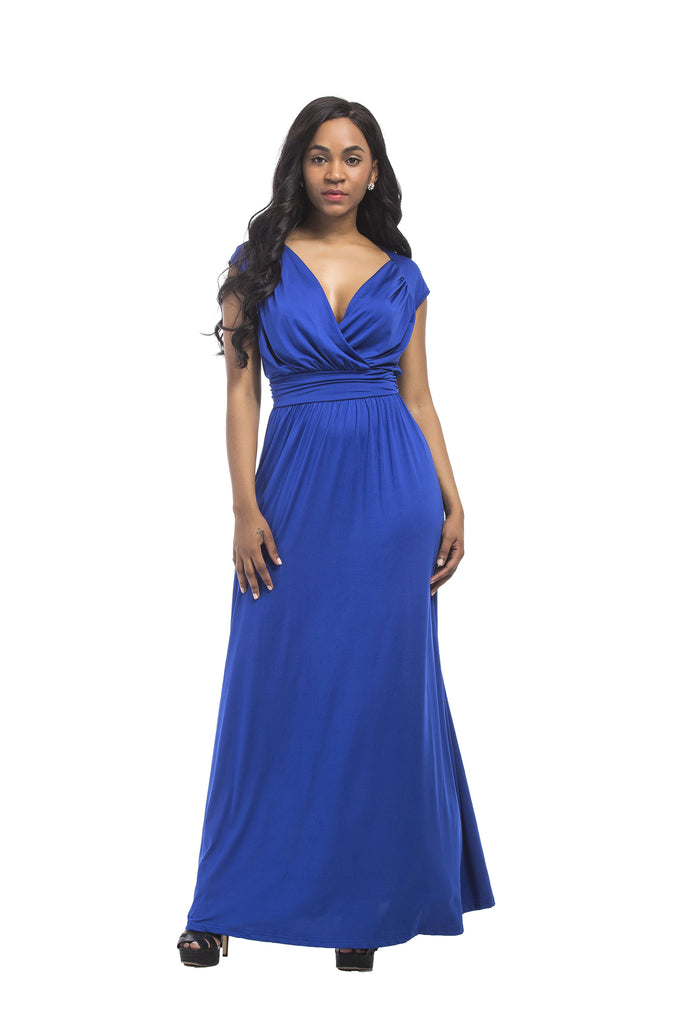 V-neck Long Formal Dress Party Dress FP3311