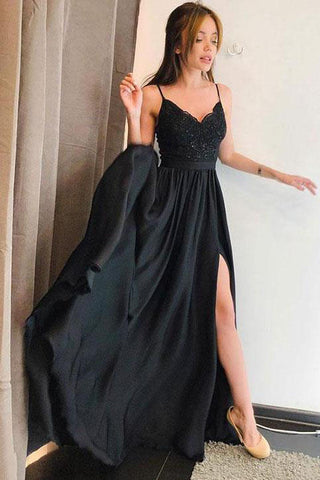 products/Simple_Spaghetti_Straps_V_Neck_Lace_Black_Prom_Dresses_Side_Slit_Evening_Dresses_PW737.jpg