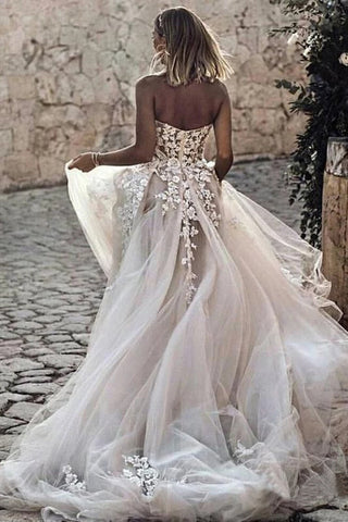 products/Sweetheart_Strapless_Lace_Rustic_Wedding_Dresses_Long_Tulle_Beach_Wedding_Dress_W1066-5.jpg