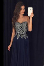 Appliques Prom Dresses,Floor-Length Evening Dresses,Real Made Charming Evening Dresses,XC01