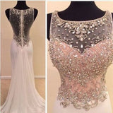 See through Mermaid Sexy Unique dresses for prom, Beautiful Prom Dresses uk PM945