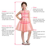 Princess Sequins Bodice Mother and Kids Dress Ball Gown Princess Flower Girl Dresses PM546