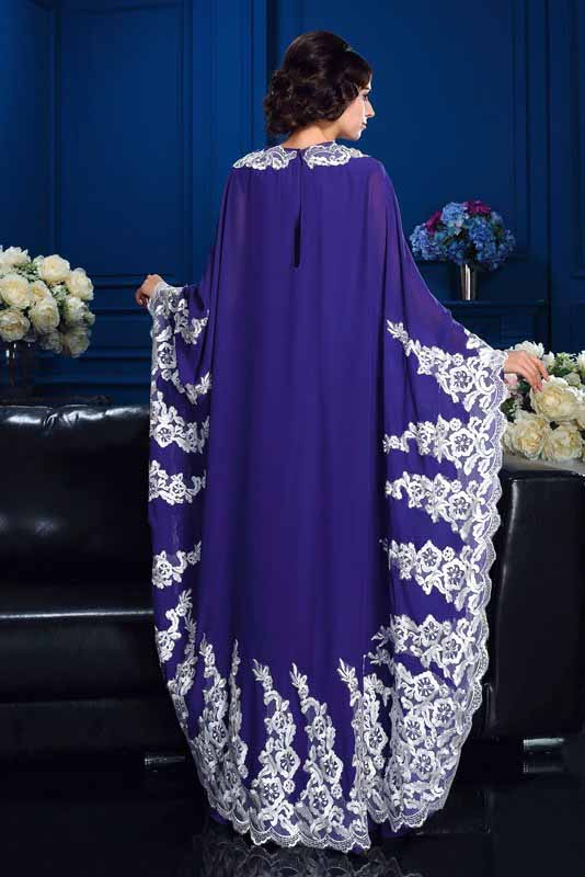 A-Line Princess Scoop Appliques Long Sleeves High Neck Chiffon Mother of the Bride Dresses PM887