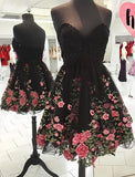 Backless Sweetheart Fashion Sexy Party Dress,Custom Made Homecoming Dress PM111