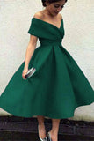 Elegant Knee Length Prom Dresses,Vintage Homecoming Dresses PW154