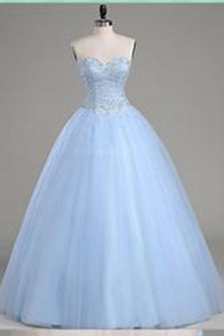 Modest Sweetheart Ball Gown Bodice Fashion Strapless Sexy New Style Quinceanera Dress PM602