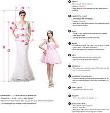 A-Line Scoop Knee-Length Half Sleeves Appliques Tulle Short Homecoming Graduation Dress PM247